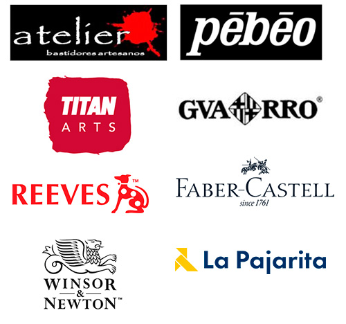 Logotipos marcas de material