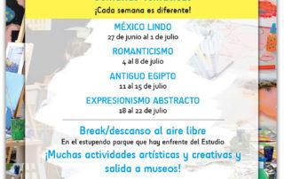 Mañanas de verano con Arte 2016