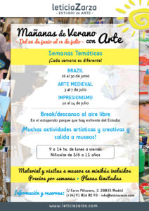 Mañanas de Verano con Arte 2017