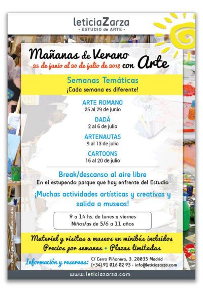 Mañanas de Verano con Arte 2018