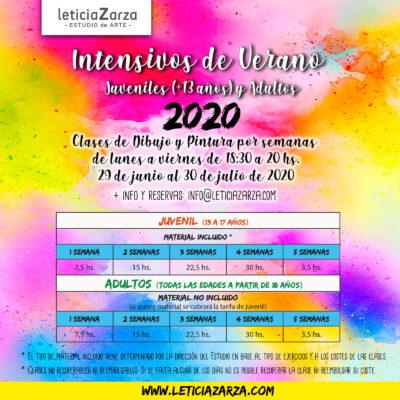 INTENSIVOS DE VERANO 2020